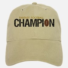 Fantasy League Champion Baseball Baseball Cap