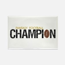 Fantasy League Champion Rectangle Magnet