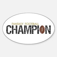 Fantasy League Champion Decal