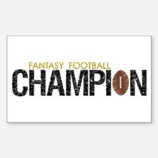 Fantasy League Champion Decal
