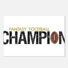 Fantasy League Champion Postcards (Package of 8)