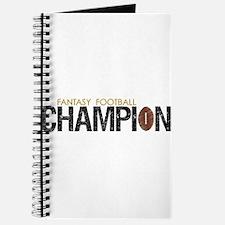Fantasy League Champion Journal