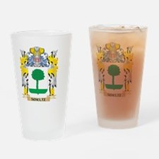 Schultz Family Crest - Coat of Arms Drinking Glass