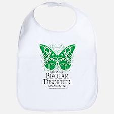 Bipolar Disorder Butterfly Bib