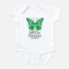 Bipolar Disorder Butterfly Infant Bodysuit
