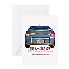 Help America Vote Greeting Card