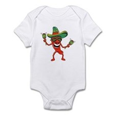 Hot Mexican Pepper Infant Bodysuit