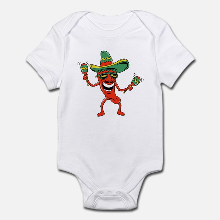Hot Mexican Pepper Infant Bodysuit