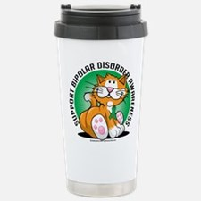 Bipolar Disorder Cat Stainless Steel Travel Mug