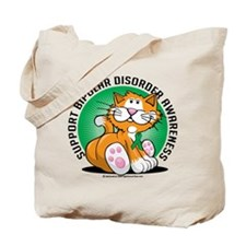 Bipolar Disorder Cat Tote Bag