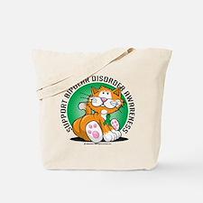 Bipolar Disorder Cat Tote Bag