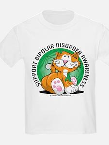 Bipolar Disorder Cat T-Shirt