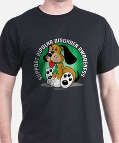 Bipolar Disorder Dog T-Shirt