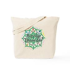 Bipolar Disorder Lotus Tote Bag