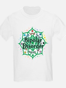 Bipolar Disorder Lotus T-Shirt