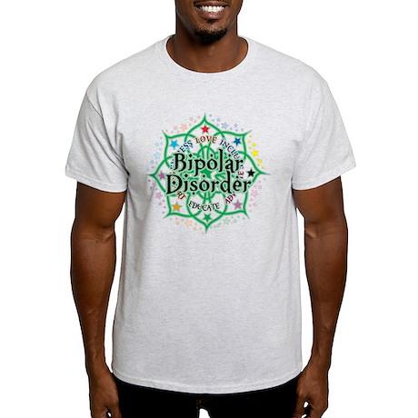 Bipolar Disorder Lotus Light T-Shirt