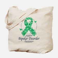 Bipolar Disorder Ribbon of Bu Tote Bag