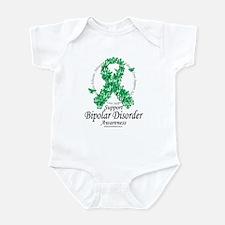 Bipolar Disorder Ribbon of Bu Infant Bodysuit