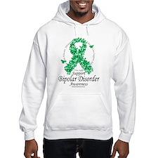 Bipolar Disorder Ribbon of Bu Hoodie