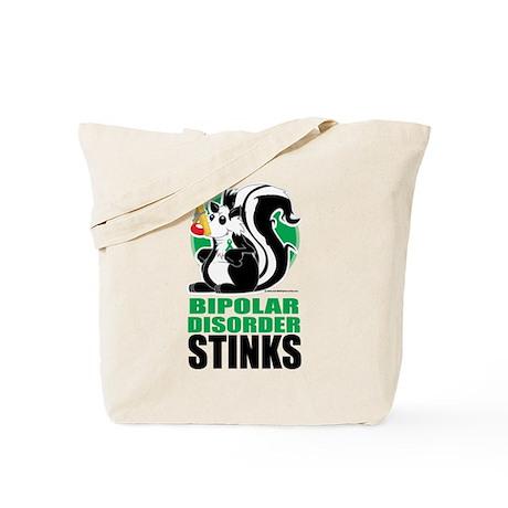 Bipolar Disorder Stinks Tote Bag