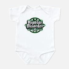Bipolar Disorder Tribal Infant Bodysuit