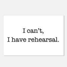 Cute Rehearsal Postcards (Package of 8)