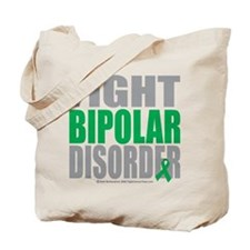 Fight Bipolar Disorder Tote Bag