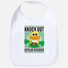 Knock Out Bipolar Disorder Bib