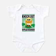 Knock Out Bipolar Disorder Infant Bodysuit