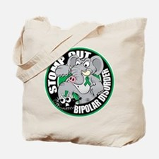 Stomp Out Bipolar Disorder Tote Bag