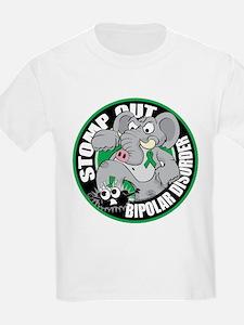 Stomp Out Bipolar Disorder T-Shirt
