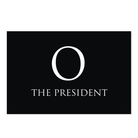O the President Postcards (Package of 8)