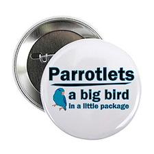 Blue Parrotlets Button