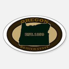 Oregon Est. 1859 Sticker (Oval)
