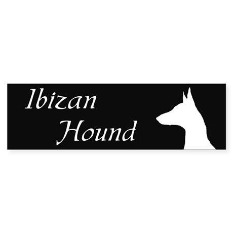 Ibizan Hound Bumper Sticker