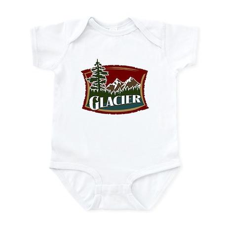 Glacier Mountains Infant Bodysuit