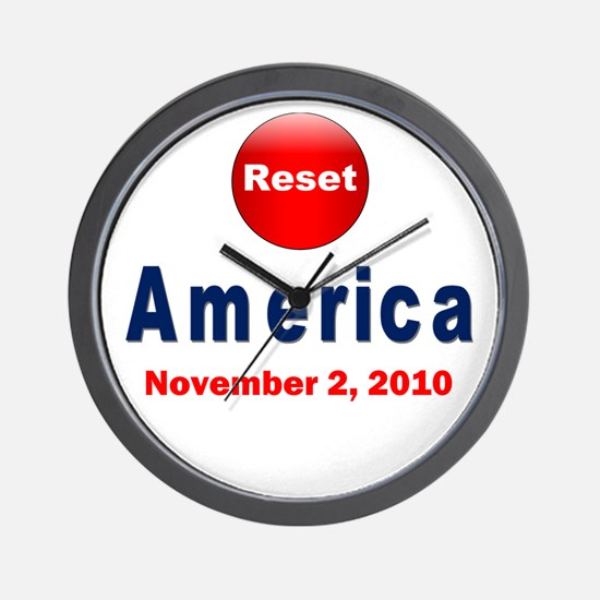 Funny Reset Wall Clock