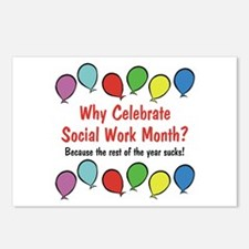 Why Celebrate SWM Postcards (Package of 8)