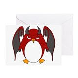 Zombie penguins Greeting Cards