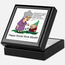 Party For A Month Keepsake Box
