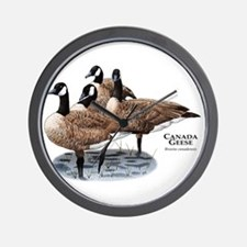 Canada Geese Wall Clock