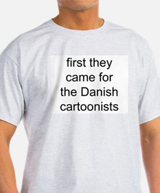 first they came Ash Grey T-Shirt