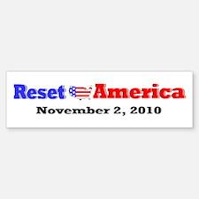 Reset America Sticker (Bumper)