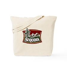 Sequoia Mountains Tote Bag