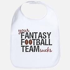 Funny Fantasy Football Bib