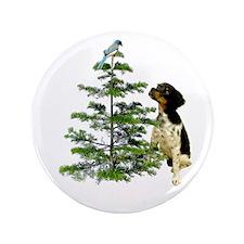 "Bird Dog Tree 3.5"" Button"