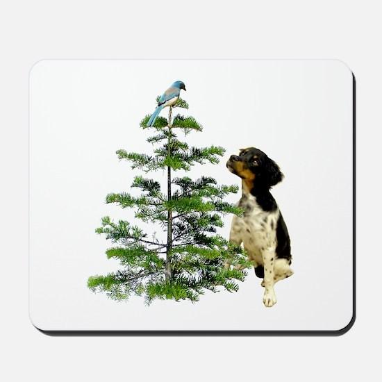 Bird Dog Tree Mousepad