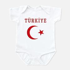 Turkiye Infant Bodysuit