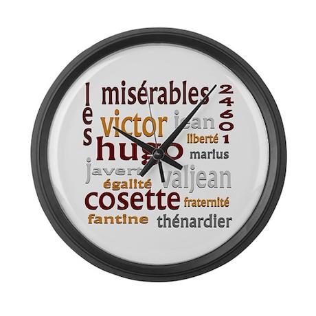 Les Miserables Large Wall Clock