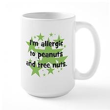 I am allergic to Peanuts & Tr Mug